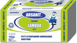 Arsanit Lambda 032 - zielone opakowanie