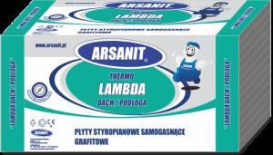 Arsanit Termo Lambda Dach/Podłoda opakowanie turkusowe