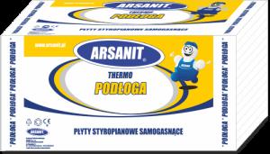 Arsanit Termo Podłoga Płyty styropianowe samogasnące