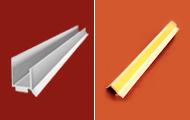 Profil typu J do płyt G-K z uszczelką i paskiem dylatacyjnym (przyokienny) do wykończenia otworów okiennych
