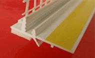 Listwy przyokienne dylatacyjne, estetyczne wykończenie pomiędzy ościeżnicą okienną lub drzwiową