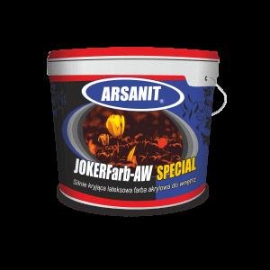 Arsanit JOKERFarb - AW Special Silnie kryjąca lateksowa farba akrylowa do wnętrz