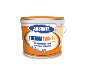 Strukturalny tynk silikatowo-silikonowy Arsanit