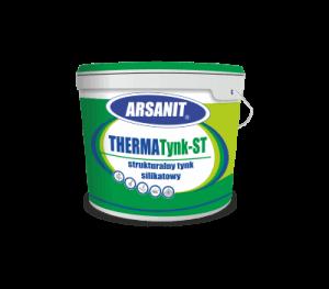 THERMATynk-ST Strukturalny tynk silikatowy idealnie sprawdza się przy wykańczaniu ścian