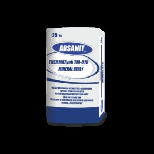 Szlachetny tynk mineralny biały Arsanit 25 kg
