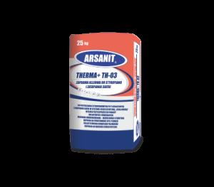 Arsanit Therma+ TH03 Zaprawa klejowa do styropianu i zatapiania siatki